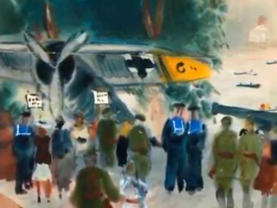"""f45bf0247f8ca93c022d826625f4f27a - В Пушкинском музее открылась """"военная"""" выставка Татьяны Мавриной"""
