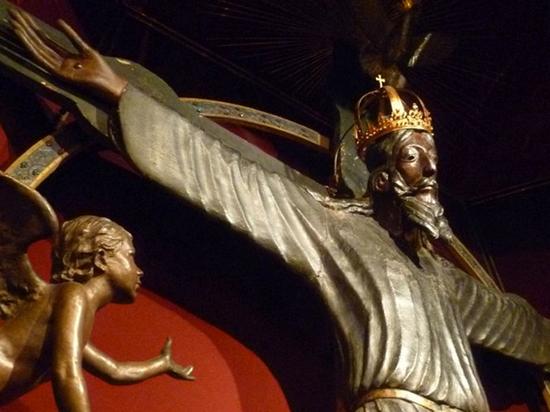 f7c65cbd17479b4c5971b290163e7c8d - В Италии обнаружена древнейшая деревянная статуя Христа